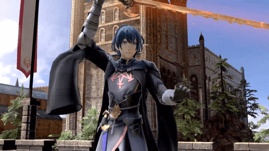 Fire Emblem's Byleth is the 5th Smash Bros. DLC character.