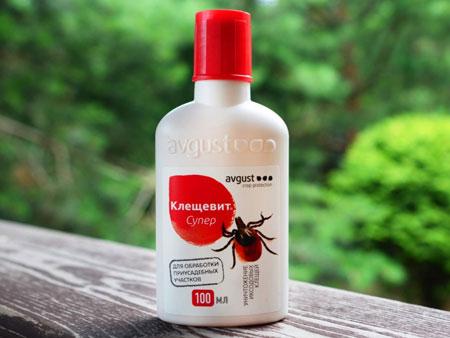 средство от насекомых клещевит