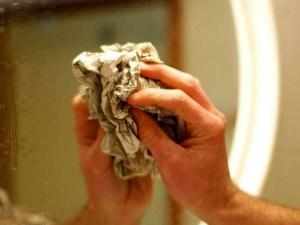 прибирання - чистимо дзеркало