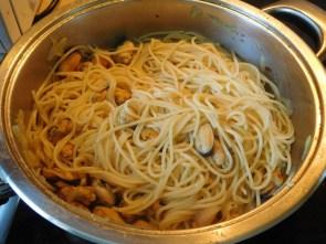мідії зі спагеті 3