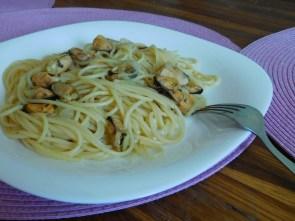 спагеті з мідіями 1
