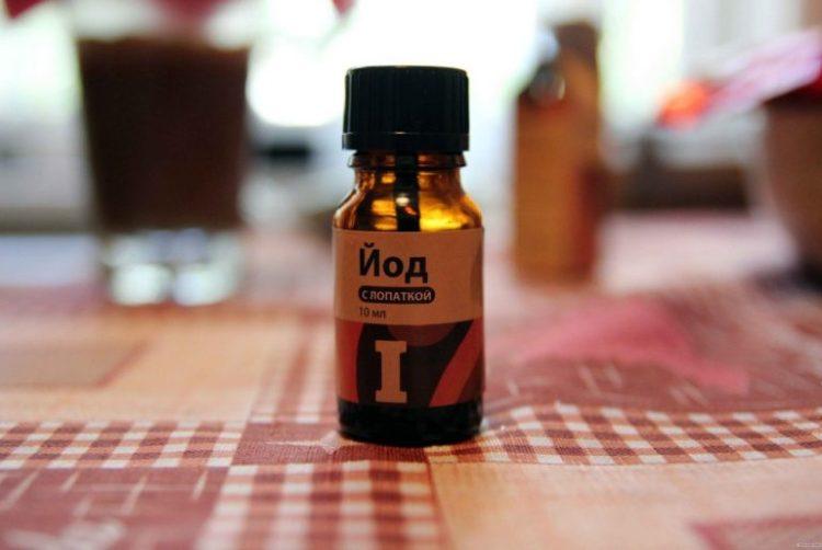 Йод активно застосовується для лікування овочевих та ягідних культур