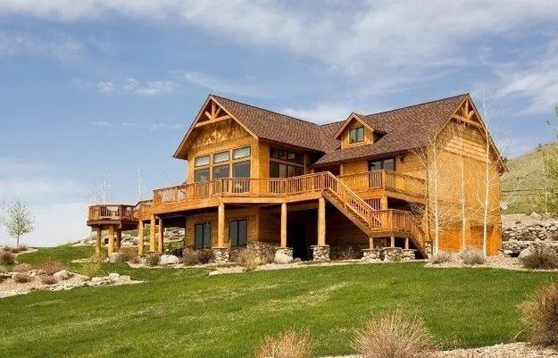 дерев'яний будинок зображення