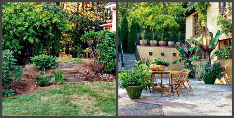 Ландшафтний дизайн подвір'я - до і після, фото 9