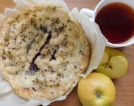 Пісний пиріг зі смородиною