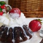 Шоколадний фондан — ресторанне тістечко за 15 хвилин