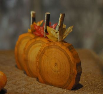 Гарбузи з дерева