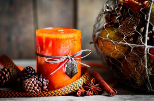 Помаранчева свічка