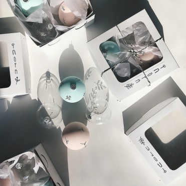 Новорічні прикраси Haluzka Glass
