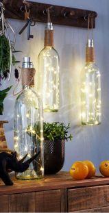 Лампочки у пляшках