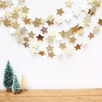 Новорічна гірлянда з зірками