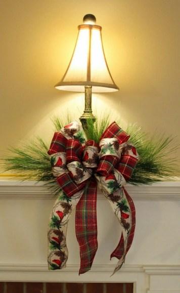 Новорічний декор лампи