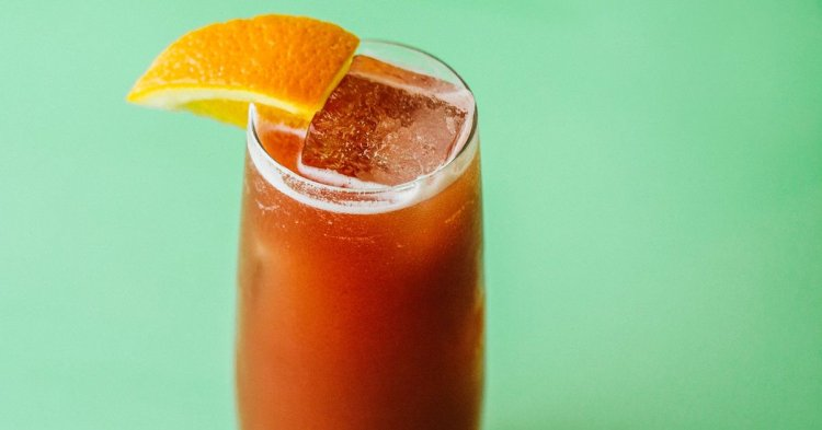 Апельсиновий коктейль з Амаретто