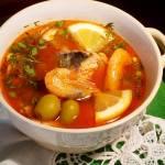 Солянка з риби — перша страва для особливих випадків