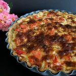 Кіш з куркою — відкритий пиріг з соковитою начинкою