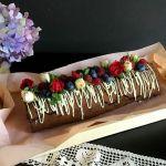 Шоколадний рулет з бісквітного тіста — коли все в шоколаді!