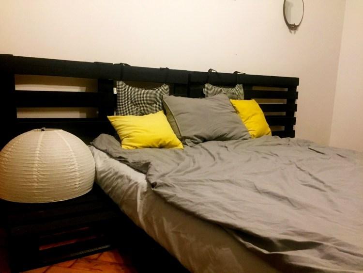 Ліжко з палет