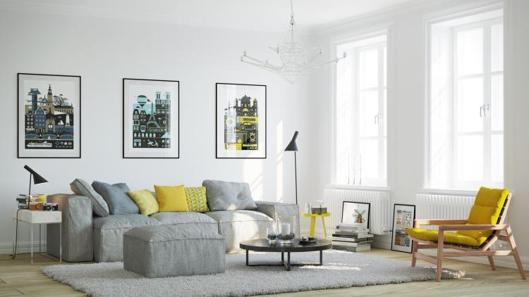 Скандинавський стиль в інтер'єрі — 65 ідей з фото