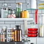Зберігання продуктів і побутових дрібниць на кухні — 100 ідей з фото