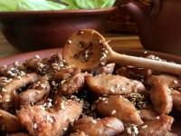 Смажена курочка в кисло-солодкому соусі теріякі — за мотивами японської кухні