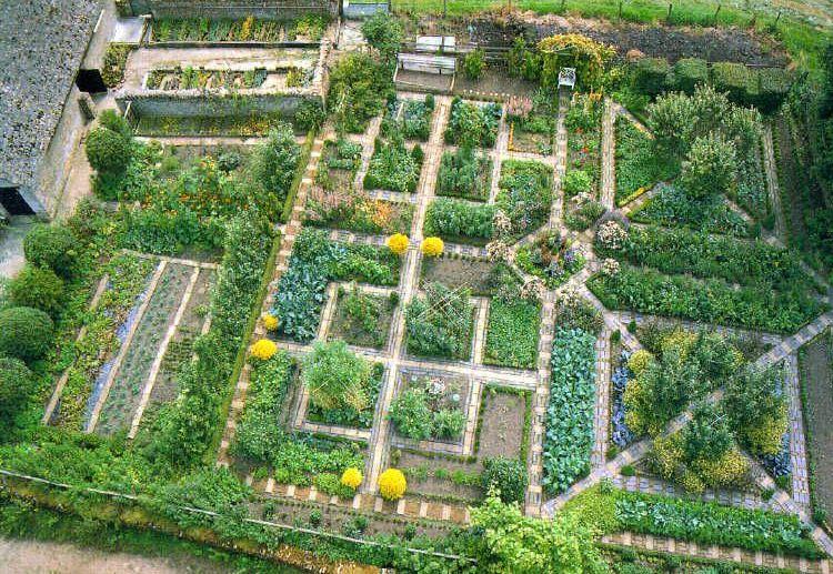 Сад в стилі потаже Розмарі Вері