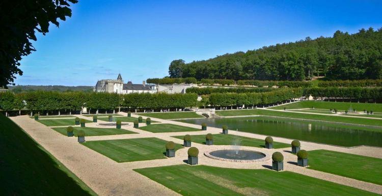 Водний сад замку Віландрі