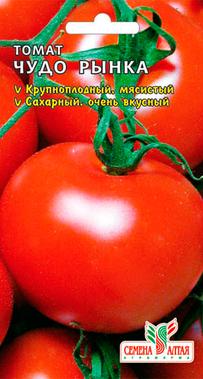 Томат «Чудо рынка»: характеристика и описание сорта