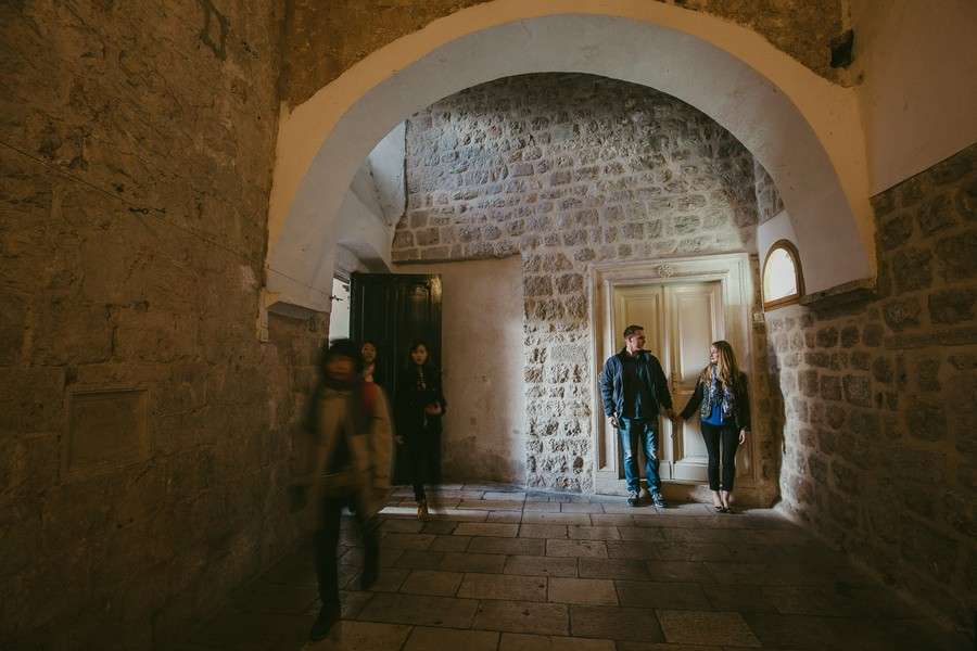 dubrovnik old town engagement session