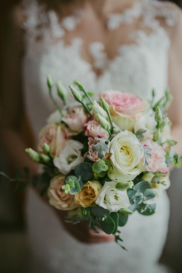 island of kolocep croatia wedding photographer bouquet