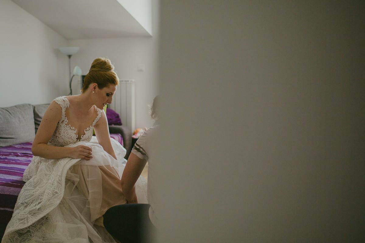 bride dressing omiš