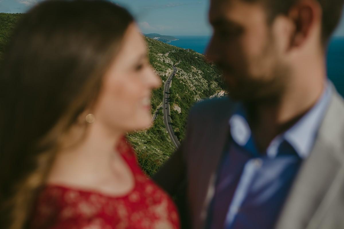 engagement photoshoot on srđ