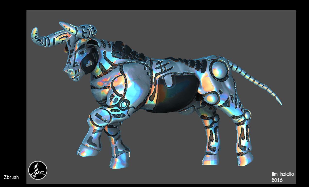 Bull_sculpt