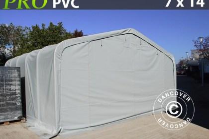Lagerzelt garagen-PRO-7X14X38-M-PVC