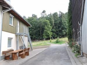 große Ferienwohnung außen Richtung Wald (800x600)