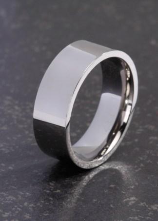 Elena titanium ring