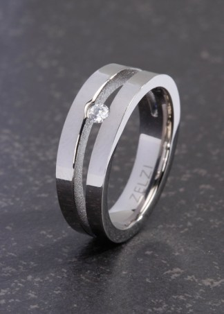 Iona titanium damesring