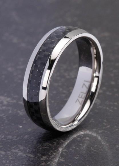 Melanthi titanium ring