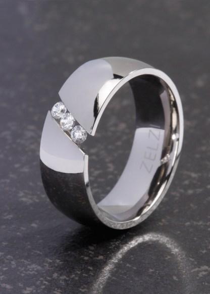 Zeta titanium ring van ZELZI