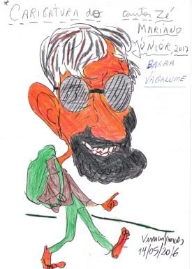 caricatura-do-cantor-ze-mariano-junior