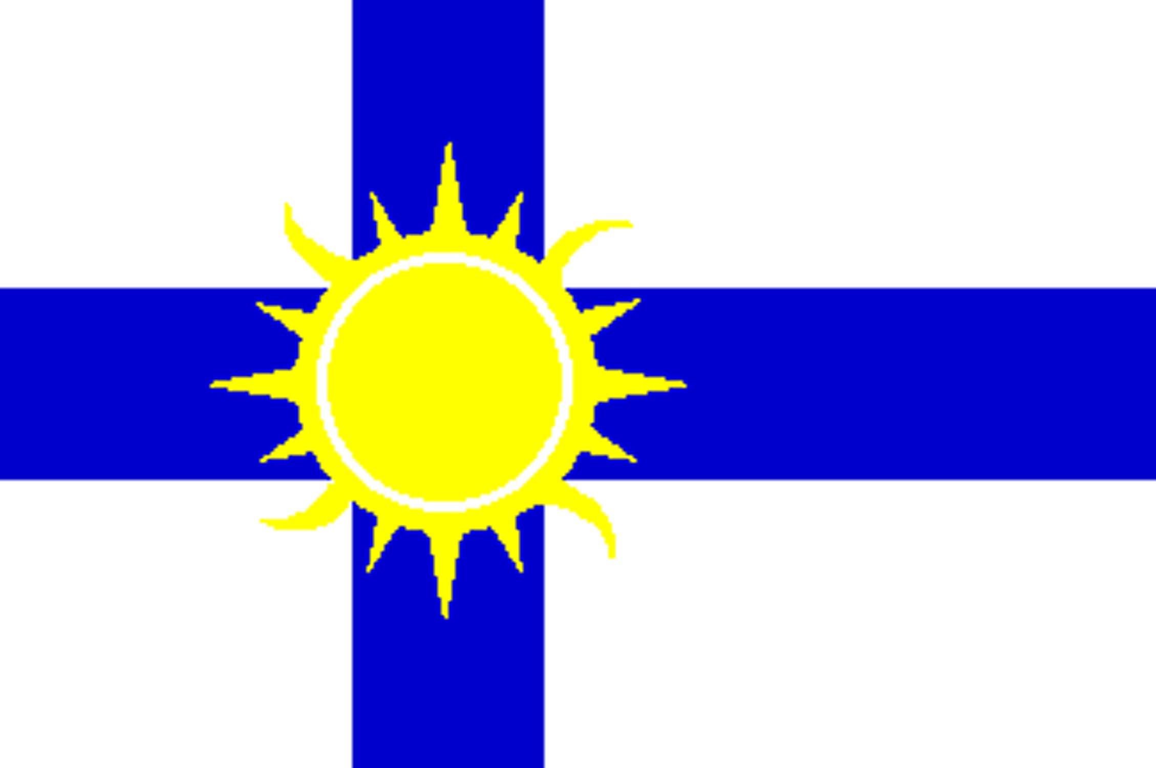 Le drapeau de la RLF