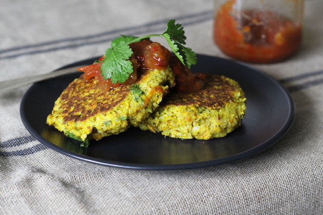 vegetable quinoa fritters