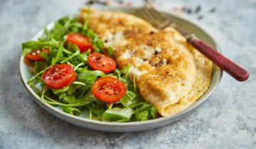 Recette: Omelette simple aux graines de chia