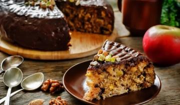 Recette : Gâteau aux noix et pépites de chocolat