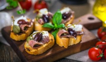 Recette : Tapas à l'anchois et tomate séchée