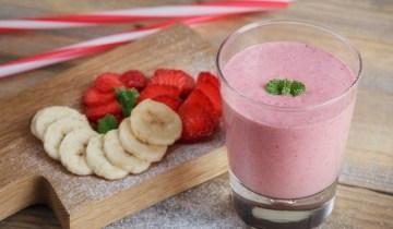 Recette : Smoothie fruits frais et lait végétal