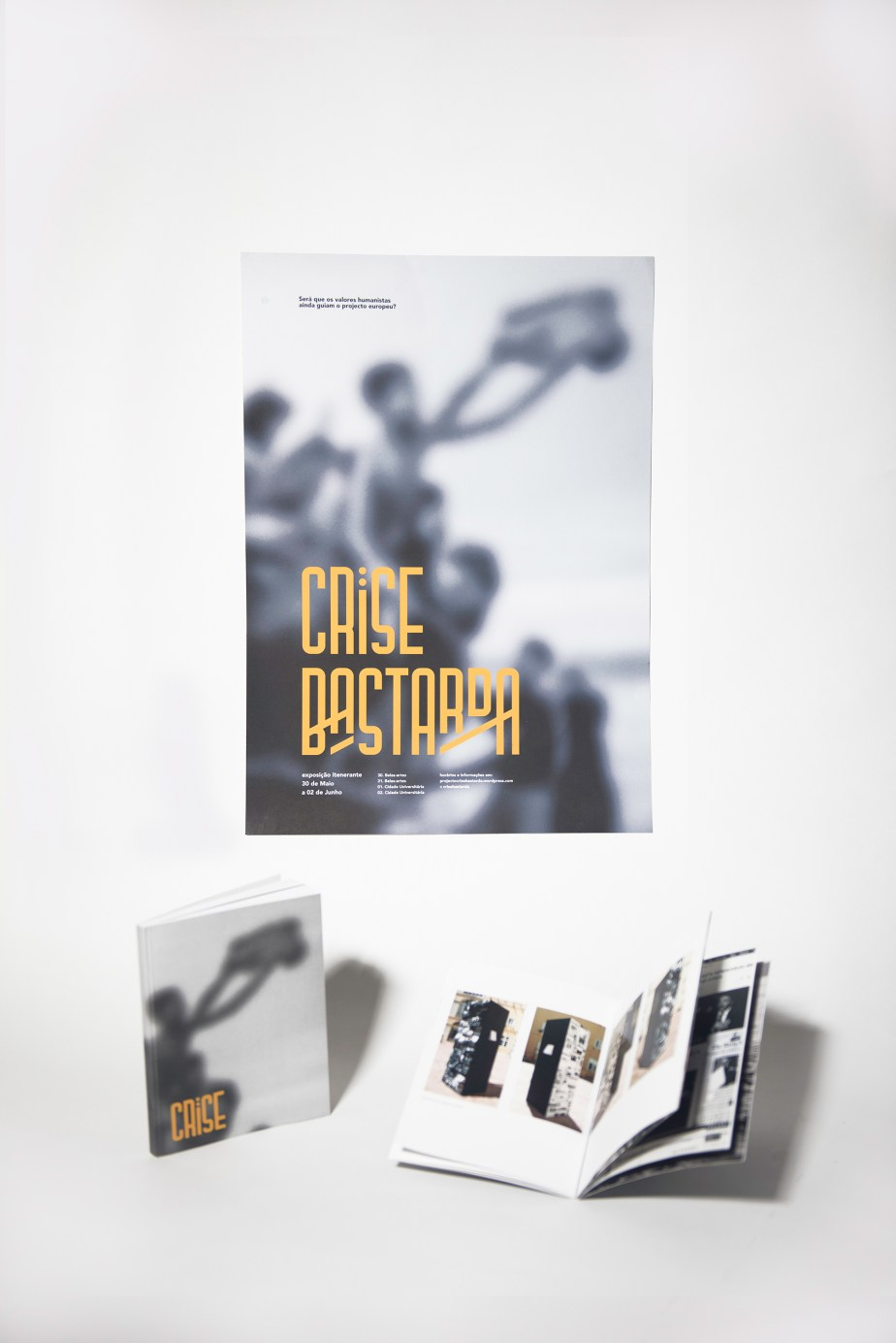 crise bastarda poster and book