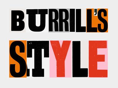 Zé Monteiro i like burrill's style