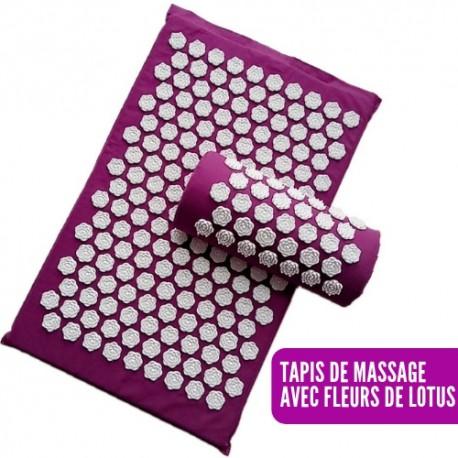 tapis massage fleur de lotus