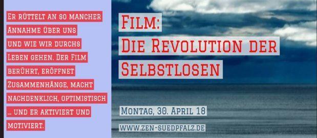 Film - Die Revolution der Selbstlosen