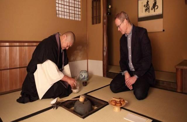 Teezeremonie im Zen
